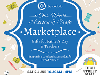 Our Wee Marketplace for June...