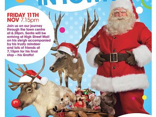 Santa Is Back In Town - Friday 11th November