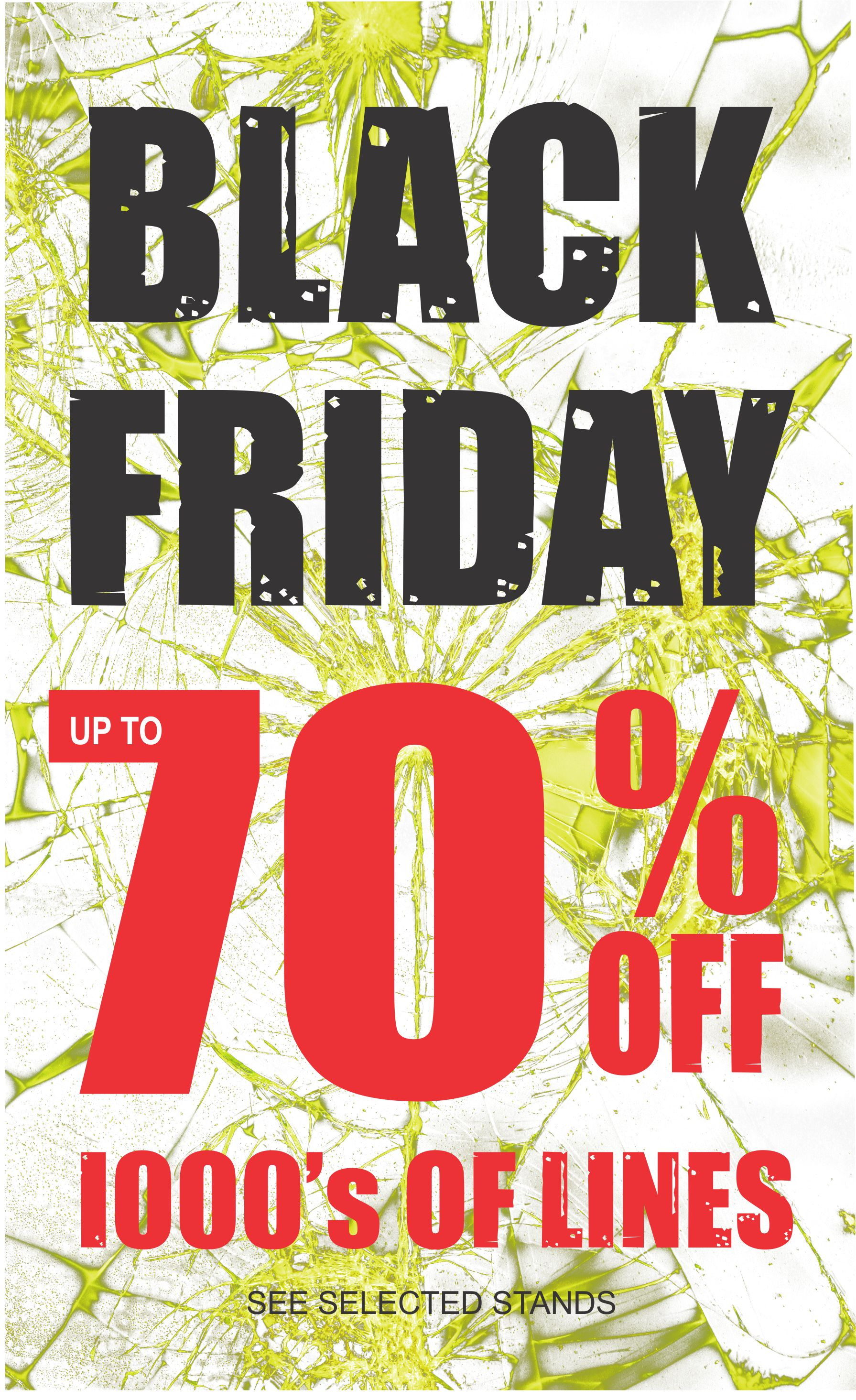 Black Friday Offers at Blue Inc