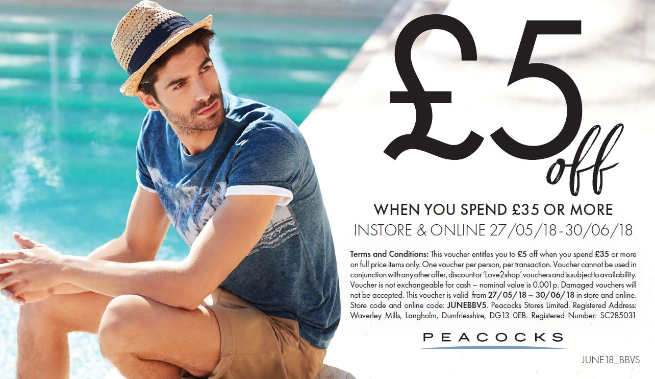 ***Peacocks June offer is here!***