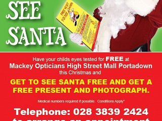Mackey Optician Christmas Offer