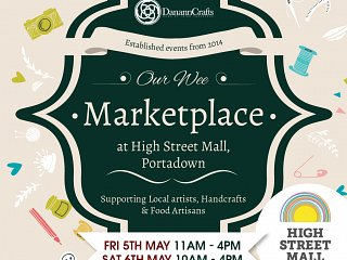 Our wee Marketplace May