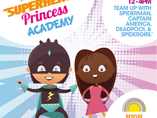 Easter Superhero & Princess Academy!