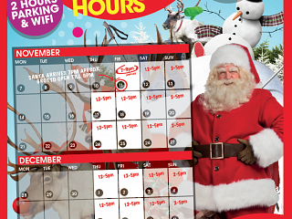 Santa's Grotto Opening Hours