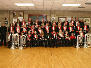 Poyntzpass Silver Band visit High Street Mall