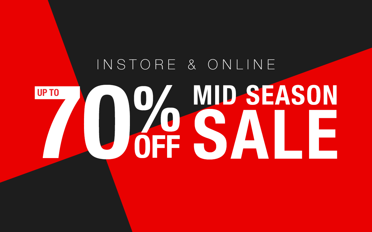 Blue Inc Mid-Season Sale Now On!
