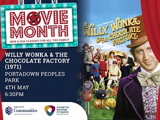 Movie Month: Willy Wonka & The Chocolate Factory