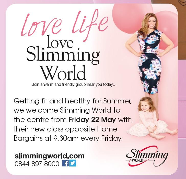 Slimming World High Street Mall Shopping In Portadown