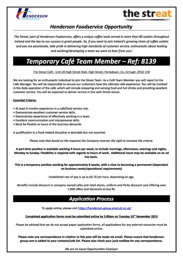 8139---Temp-Cafe-Team-Member---The-Streat-@-Portadown