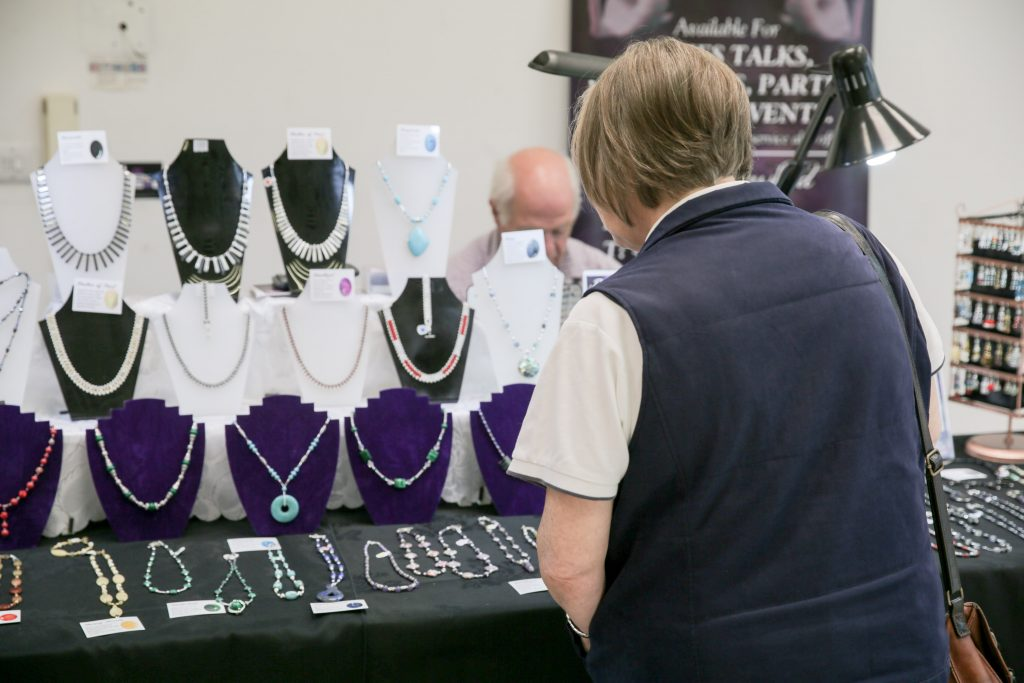 Philip Magowan Photography - Northern Ireland - 05th August 2016 High Street Mall in Portadown hosts a monthly craft fair, on the first Saturday in every month, organised by Sinead McMahon of Danann Crafts. Picture: Philip Magowan